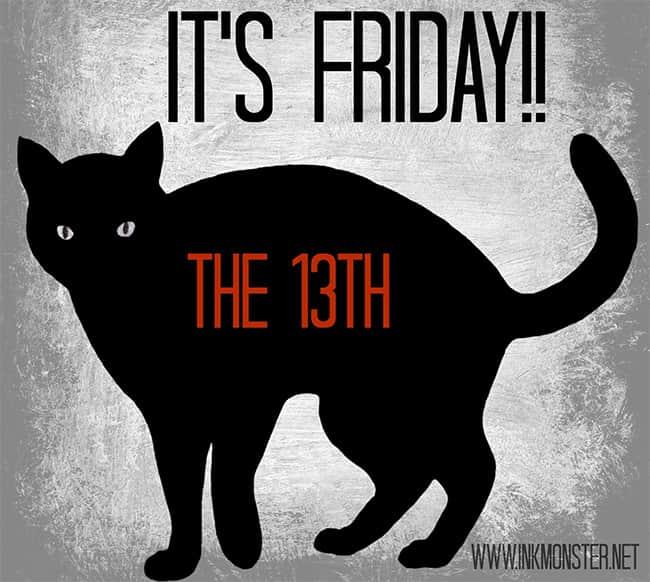 A relação entre o gato preto e a sexta-feira 13 - Sorte ou azar?